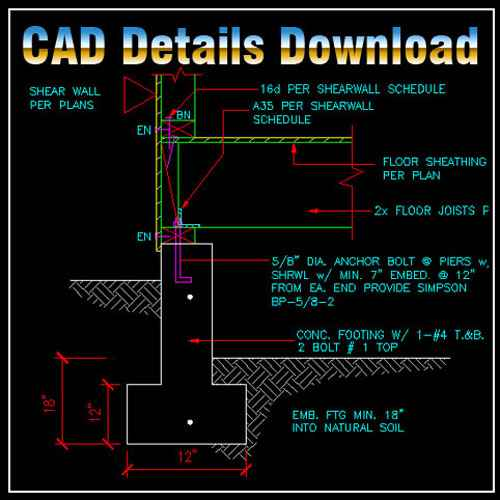 Construction Details Drawings,Construction CAD drawings downloadable in dwg files,Building Details,Architecture Drawings