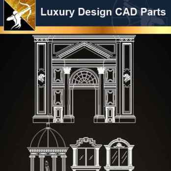 ★【Architecture Decoration Design Element CAD Blocks V.1】@Autocad Decoration Blocks,Drawings,CAD Details,Elevation